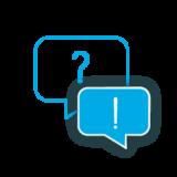 Icon Fragen Antworten